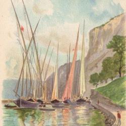 Meillerie et le lac