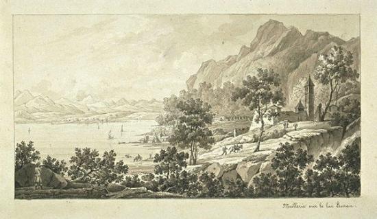 Meillerie du temps de Napoléon Ier en 1805