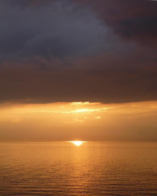 Coucher de soleil - Meillerie