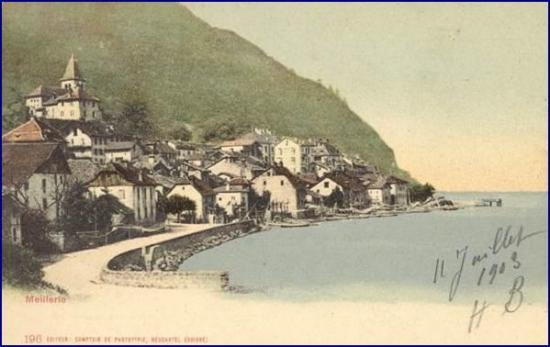 Meillerie vers 1900