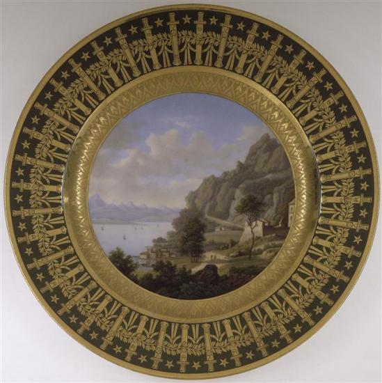 assiette du service particulier de Napoléon Ier