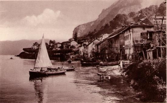 les rivages de Meillerie vers 1920