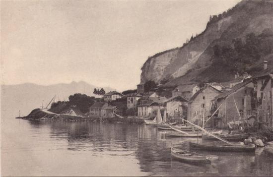 les rivages de Meillerie vers 1900