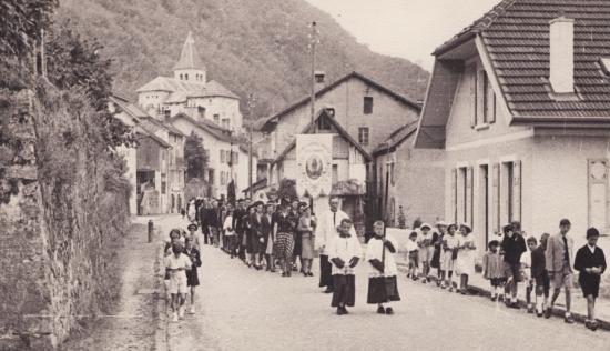 Procession le 15 Août 1942