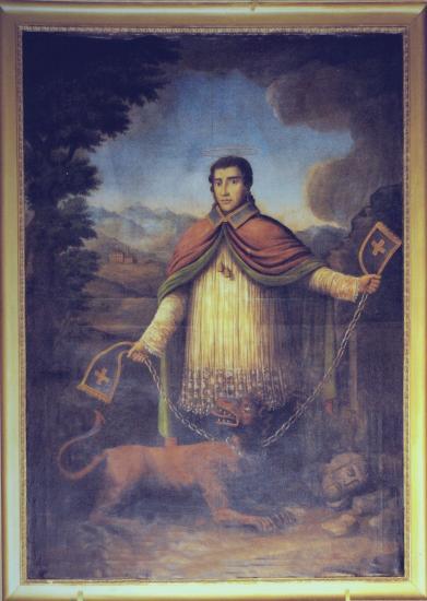 Tableau de Saint Bernard