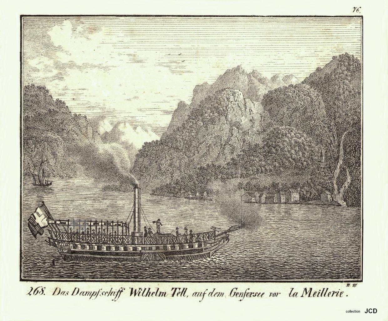 Meillerie Guillaume Tell 1823