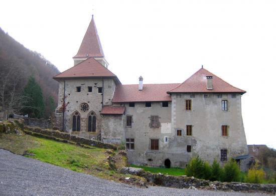 Le Prieuré du XIII ème siècle -  photo JCDeroudilhe
