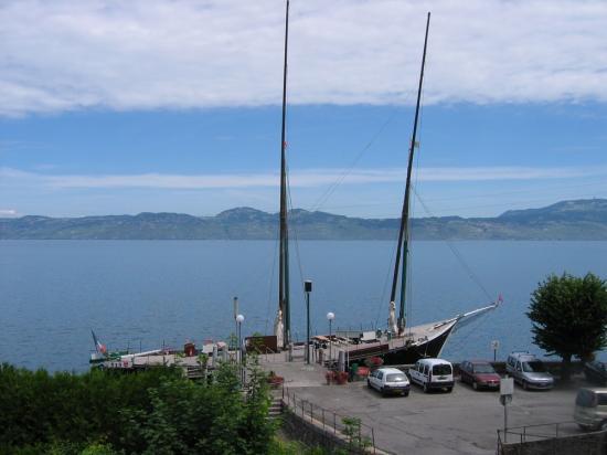 barque La Savoie au dédarcadaire