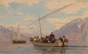 Bocion francois louis david les effeuilleuses sur le lac leman omed8300 10263 20061201 g39 126