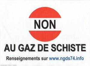 Non au Gaz de Schiste-Permis d'Abondance-Lac Léman