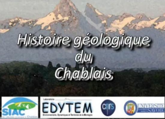 Histoire géologique du chablais