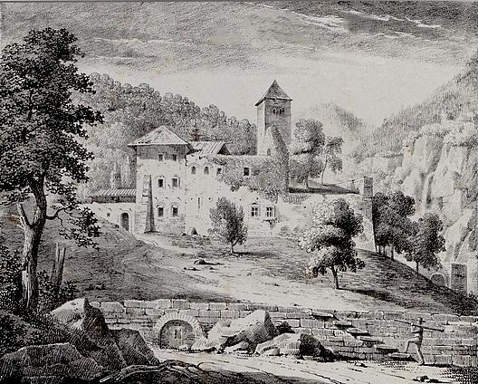 Ruine du Prieuré