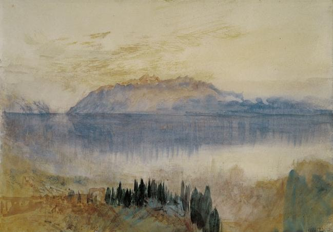 William turner lac leman avec la dent d oche vue ve lausanne 2