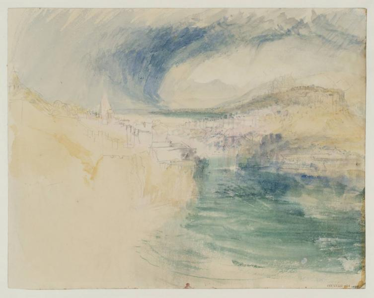 William turner nuages d orage